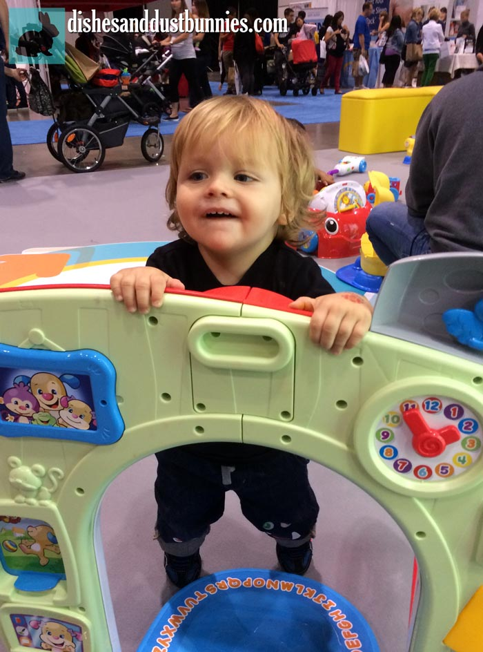 Playing at The Baby Show Toronto