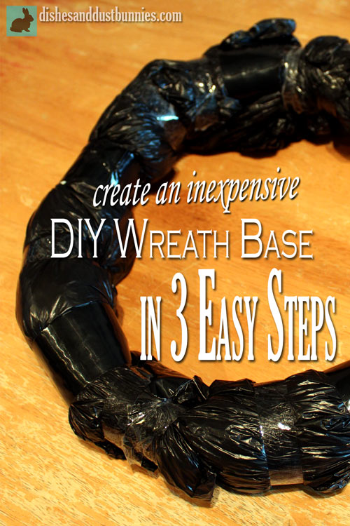 Create an Inexpensive Wreath Base in 3 Easy Steps