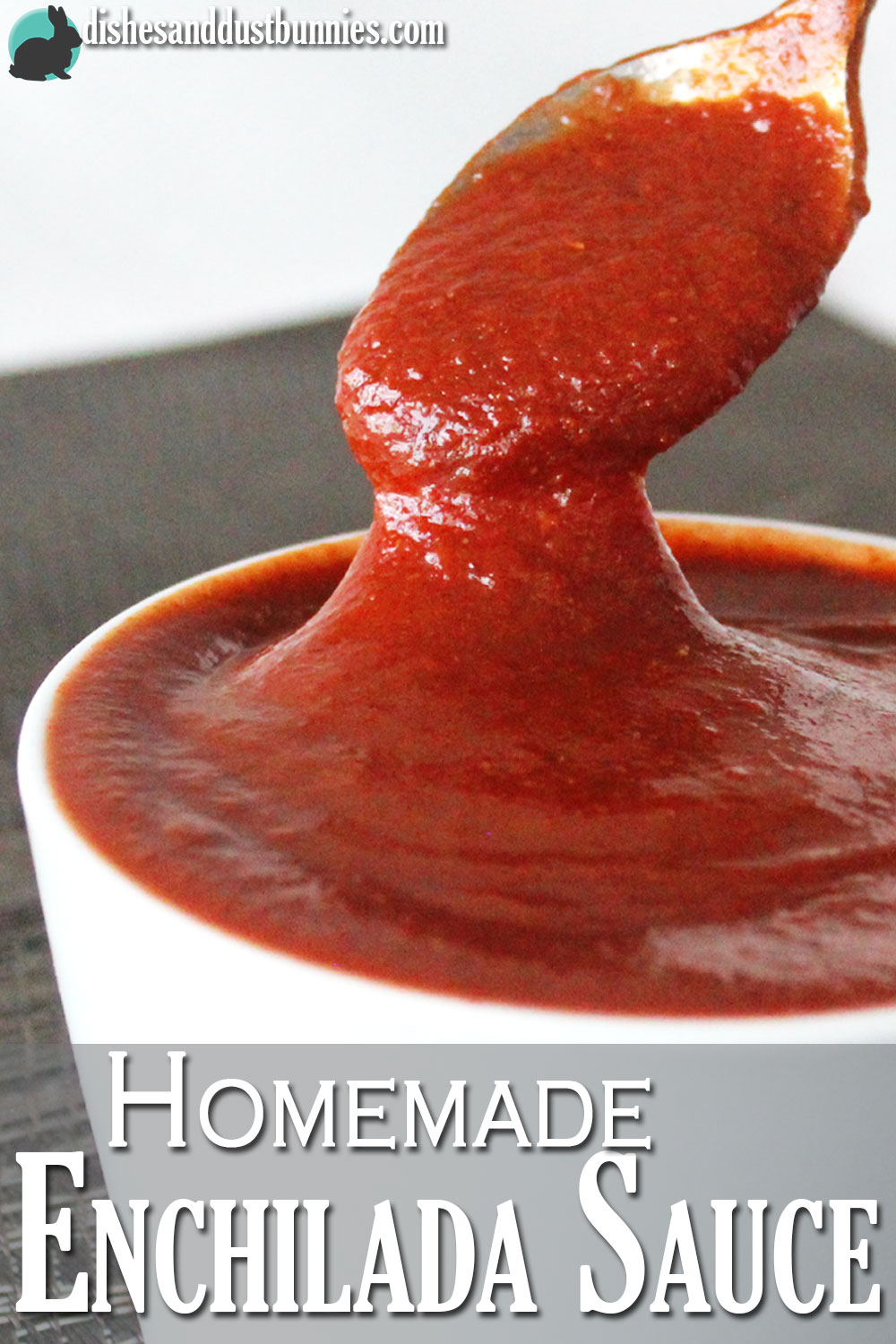How to make Homemade Enchilada Sauce from Dishes & Dust Bunnies