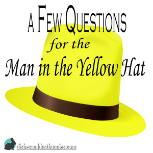 A Few Questions for the Man in the Yellow Hat