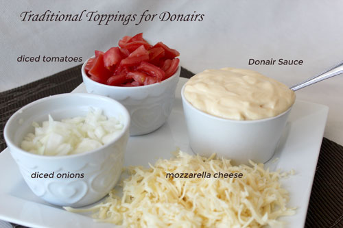 Traditional Toppings for Donairs