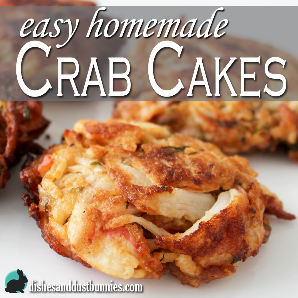 Crab Cakes Made In Advance