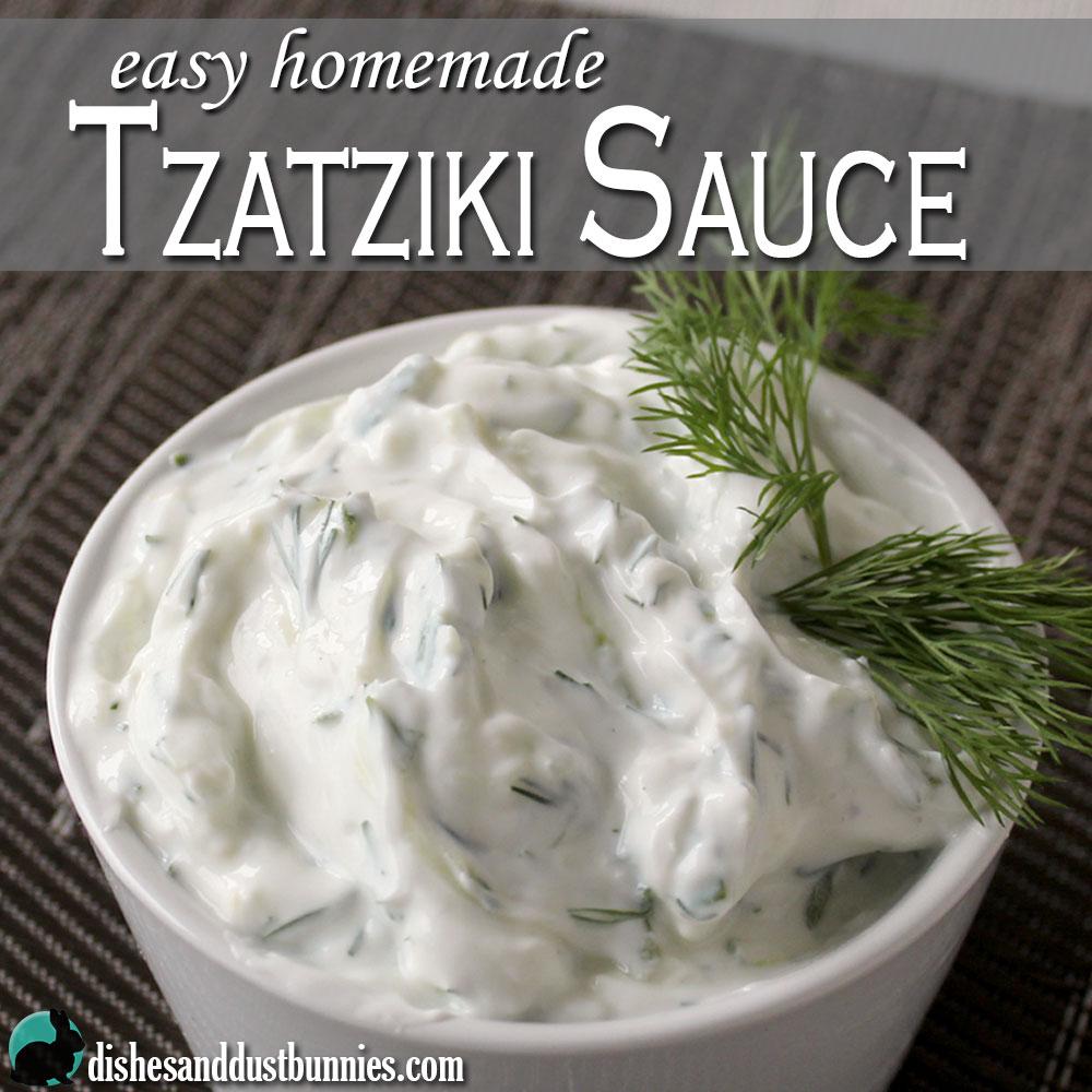 Easy Tzatziki Sauce Recipe — Dishmaps