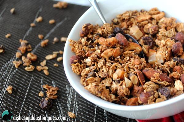 Homemade Honey Nut Granola Recipe