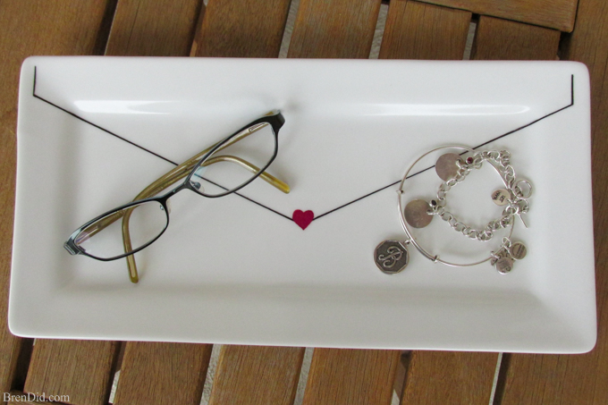 DIY Craft Project: Sharpie Plate Tutorial - Bren Did