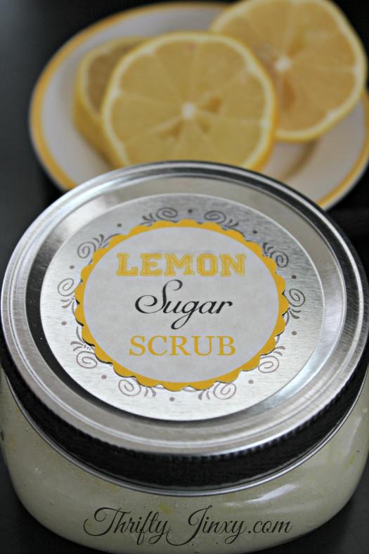 Lemon Sugar Scrub Recipe – Thrifty Jinxy