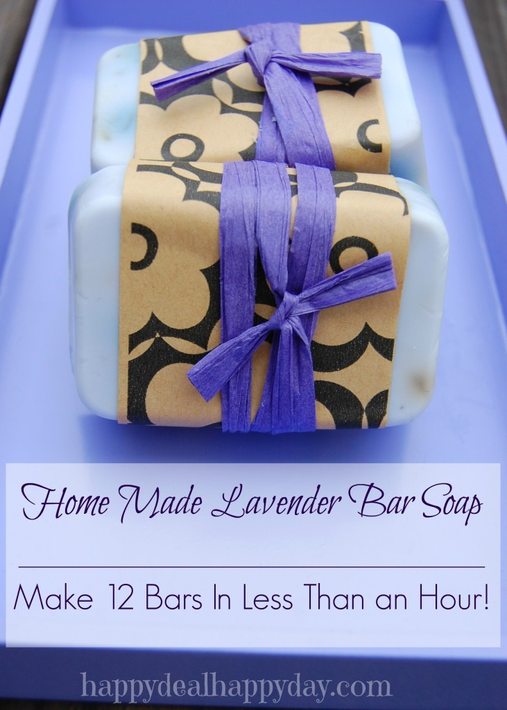 6 easy diy mother 39 s day gifts dishes and dust bunnies - Homemade soap with lavender the perfect gift ...