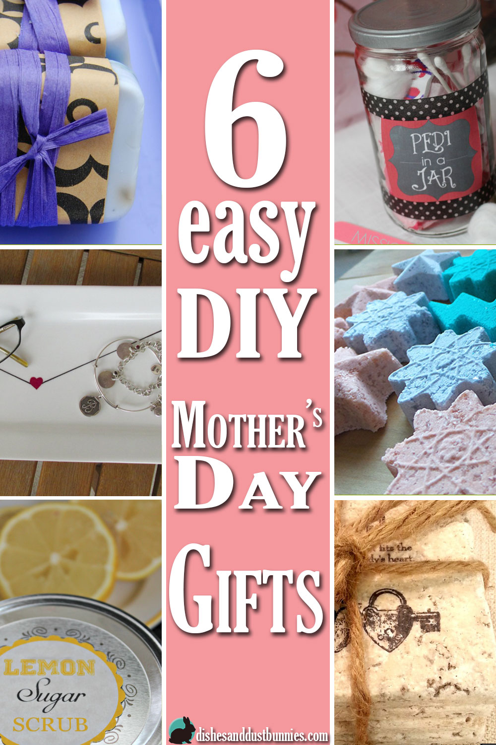 Easy Diy Gifts Diy Gifts And Easy Diy On Pinterest: 6 Easy DIY Mother's Day Gifts