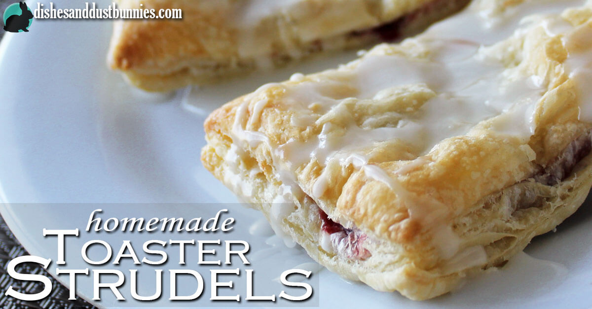 Homemade Toaster Strudel Pastries Dishes And Dust Bunnies