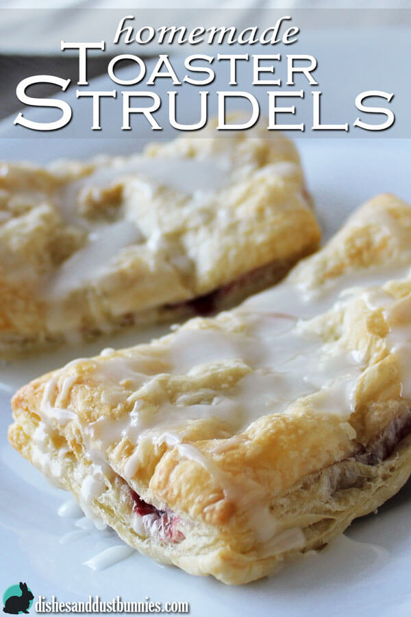 Homemade Toaster Strudel Pastries