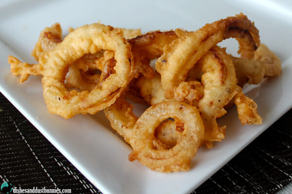 Coat Onion Rings In Flour Before Batterinh