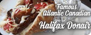 The Famous Atlantic Canadian Halifax Donair
