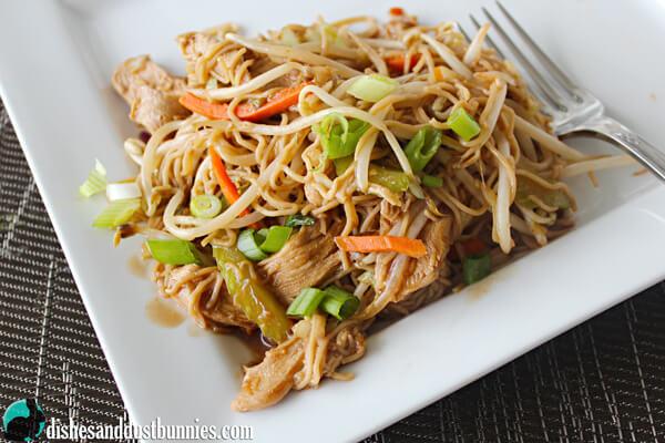 Easy Chicken Chow Mein
