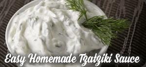Easy Homemade Tzatziki Sauce