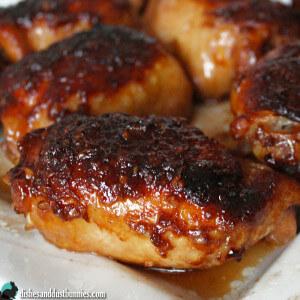 Honey Garlic Chicken (plus some really tasty sauce!)