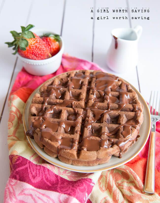 Paleo Chocolate Cake With Adziki Beans