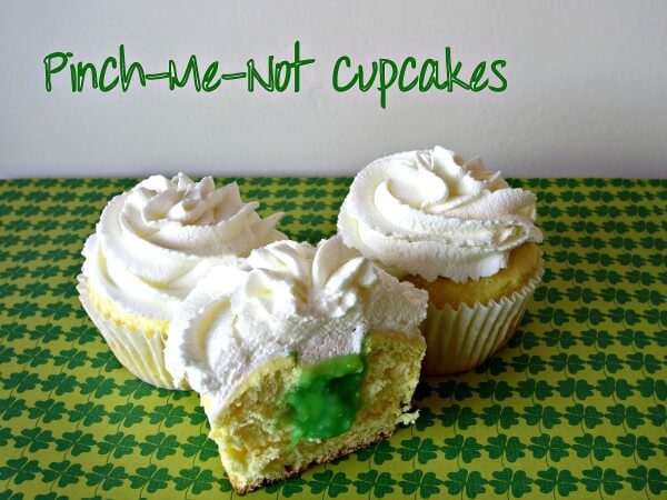 Pinch-Me-Not Cupcakes from Love to be In the Kitchen