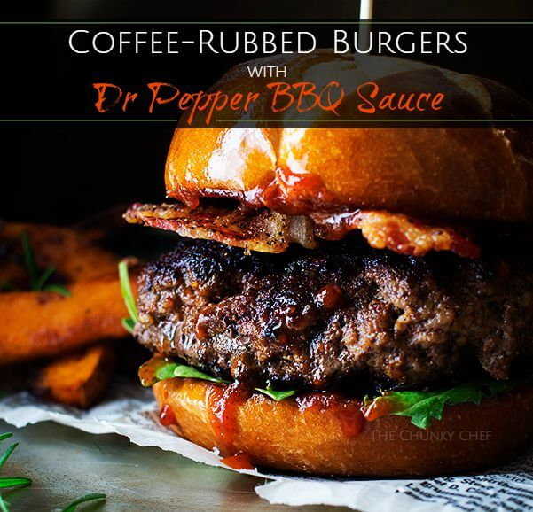 Coffee-Rubbed Cheeseburgers With Texas Barbecue Sauce Recipe ...