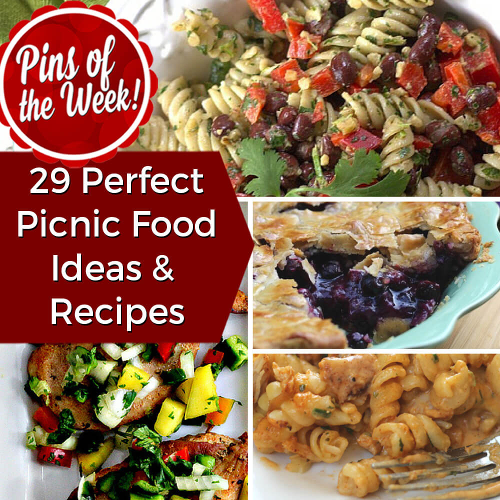 29 Perfect Picnic Food Ideas & Recipes - Pins of the Week ...