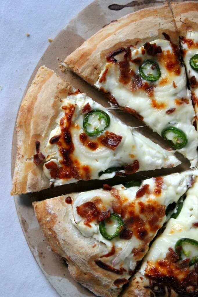 Jalapeño Popper Pizza from Natural Chow
