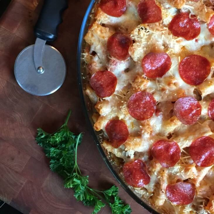Pizza Casserole from Beauty Through Imperfection
