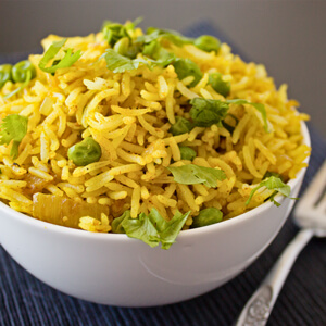 Easy Curry Fried Rice
