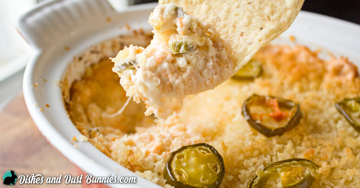 You've got to make this Jalapeno Popper Dip!