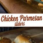 Baked Chicken Parmesan Sliders from dishesanddustbunnies.com