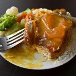Mango Chutney Pork Chops from dishesanddustbunnies.com