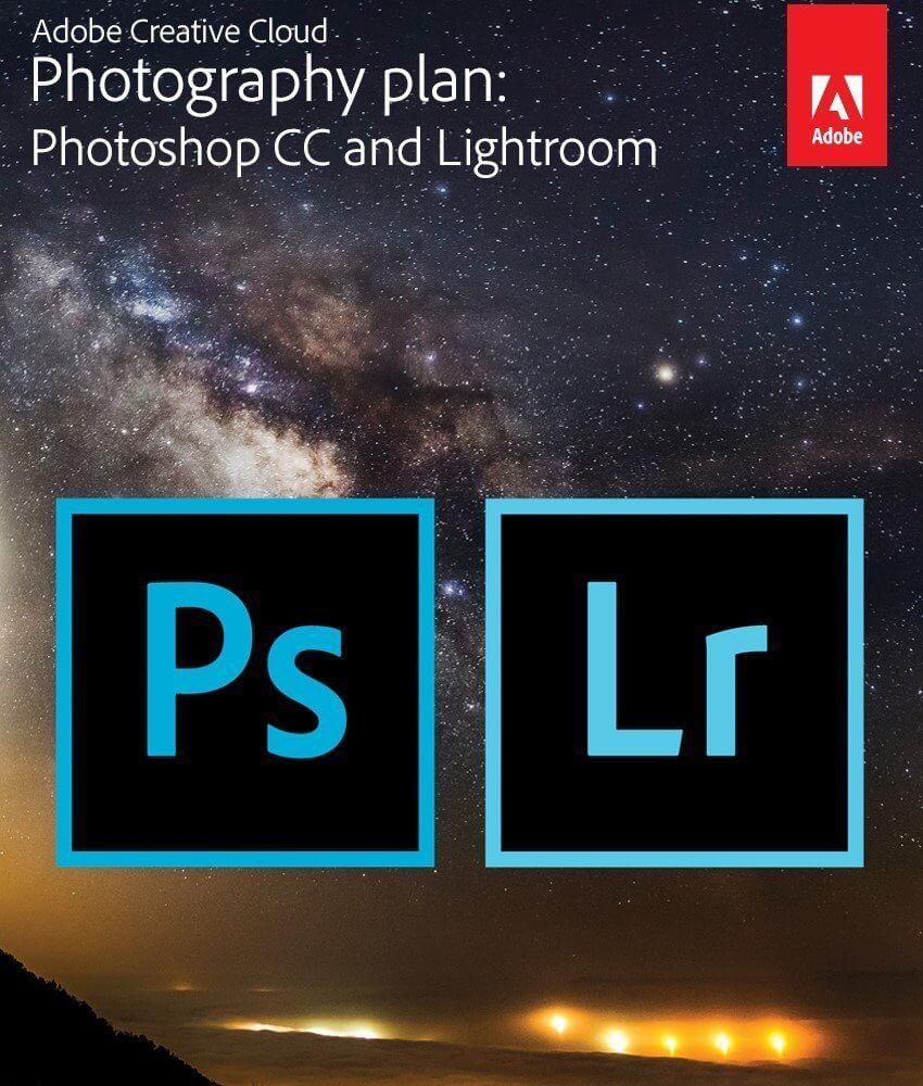 Photoshop and Lightroom