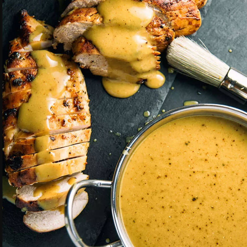 South Carolina-Style Mustard Barbecue Sauce from Paleo Leap