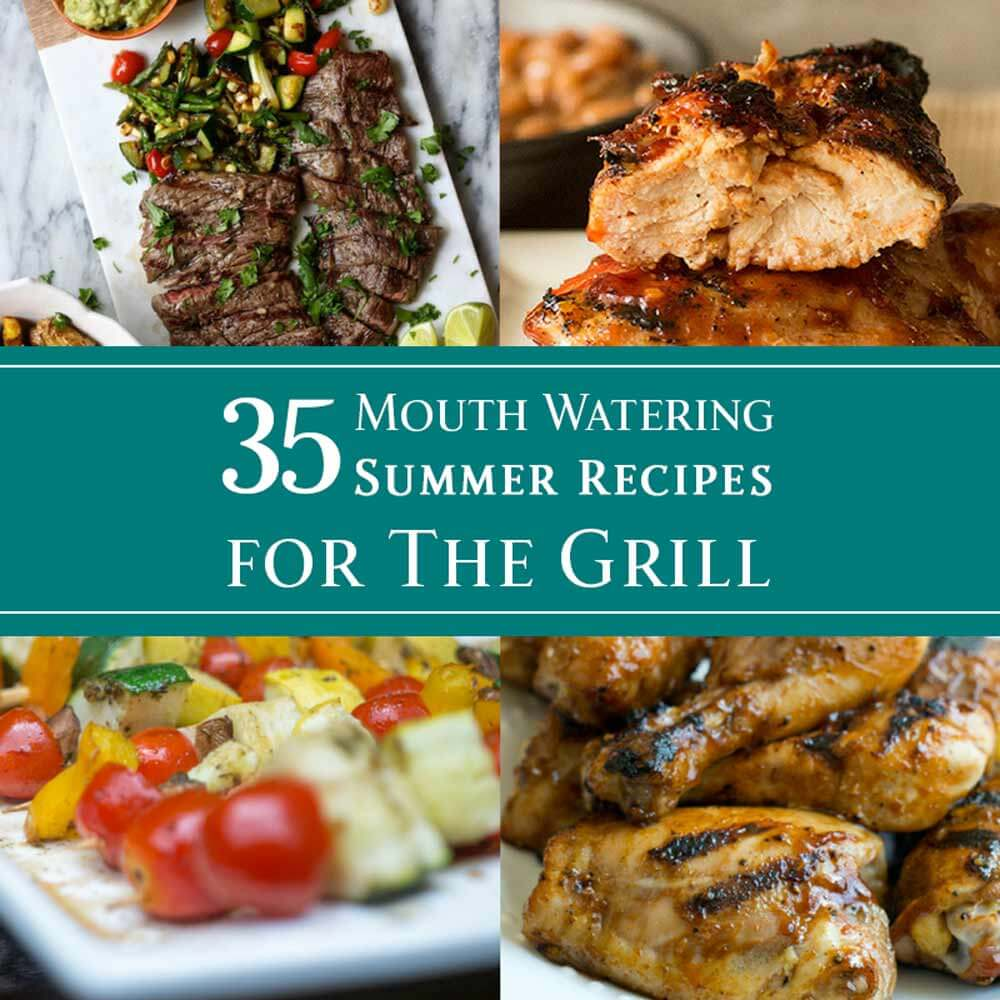 35 Mouthwatering Mushroom Recipes: 35 Mouth Watering Summer Recipes For The Grill