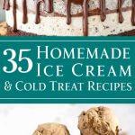 35 Homemade Ice Cream & Cold Treat Recipes - dishesanddustbunnies.com