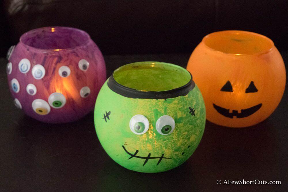 DIY Halloween Luminaries from A Few Shortcuts