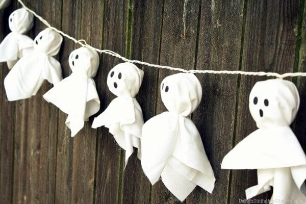 Illuminated Ghost Garland from Taryn Whiteaker