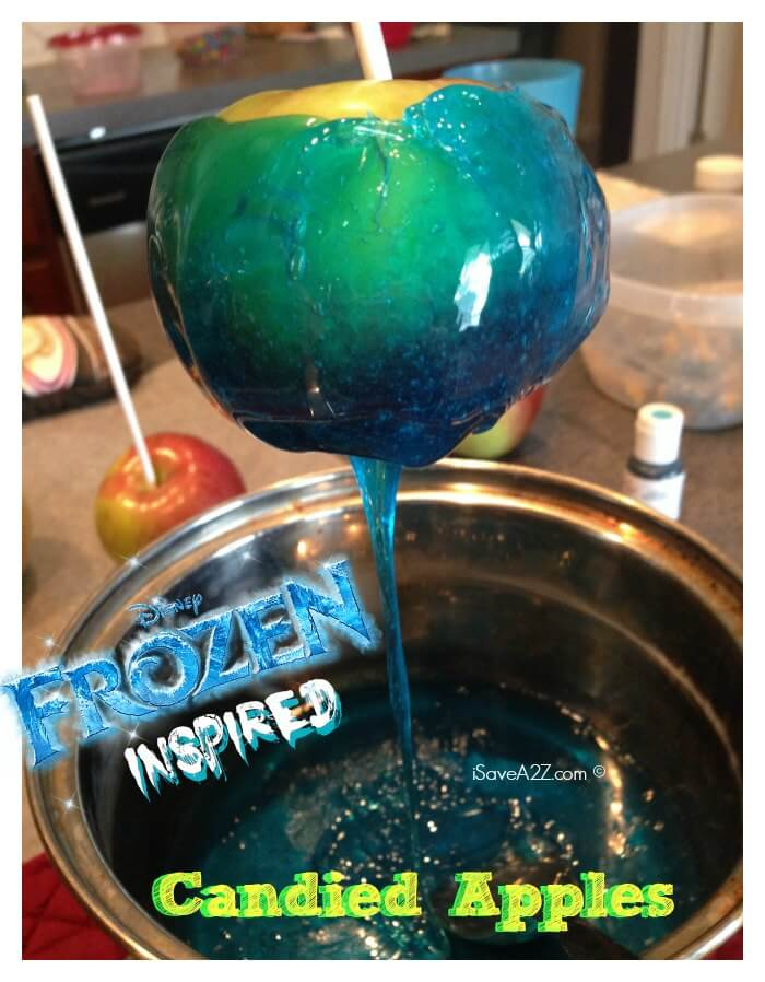 Jolly Rancher Candied Apples: Disney's Frozen Inspired Colors from I Save A to Z