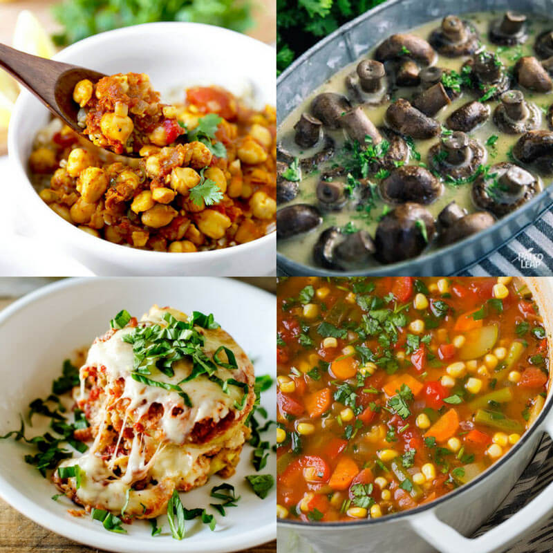 16 Meatless but Mighty Slow Cooker Recipes -dishesanddustbunnies.com