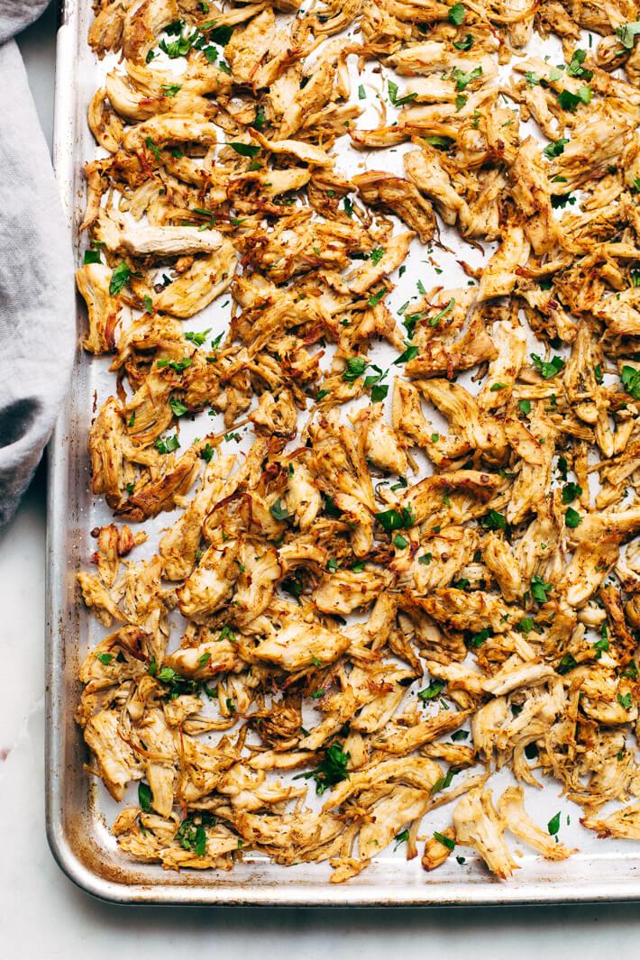 Pressure Cooker Crispy Chicken Carnitas from Little Spice Jar
