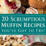 20 Scrumptious Muffin Recipes You've got to Try! - dishesanddustbunnies.com