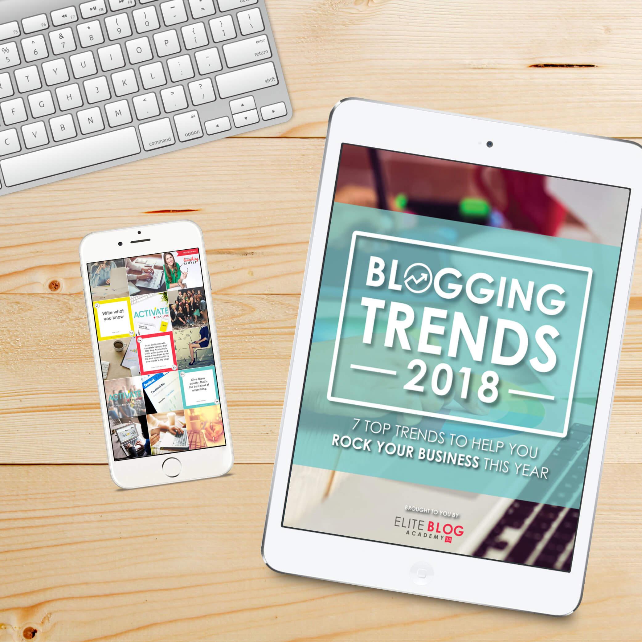 2018 Blogging Trends