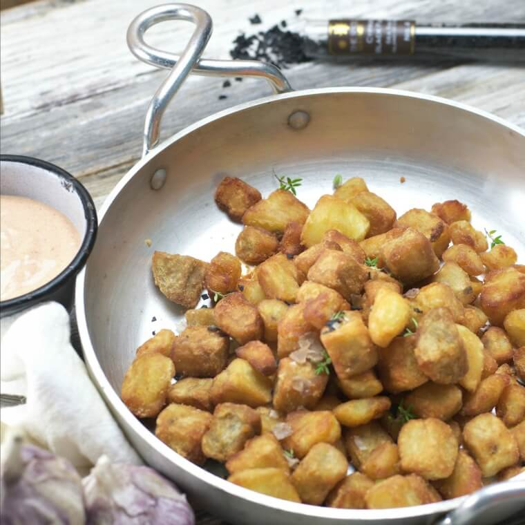 Southern Fried Breakfast Potatoes from Loaves and Dishes