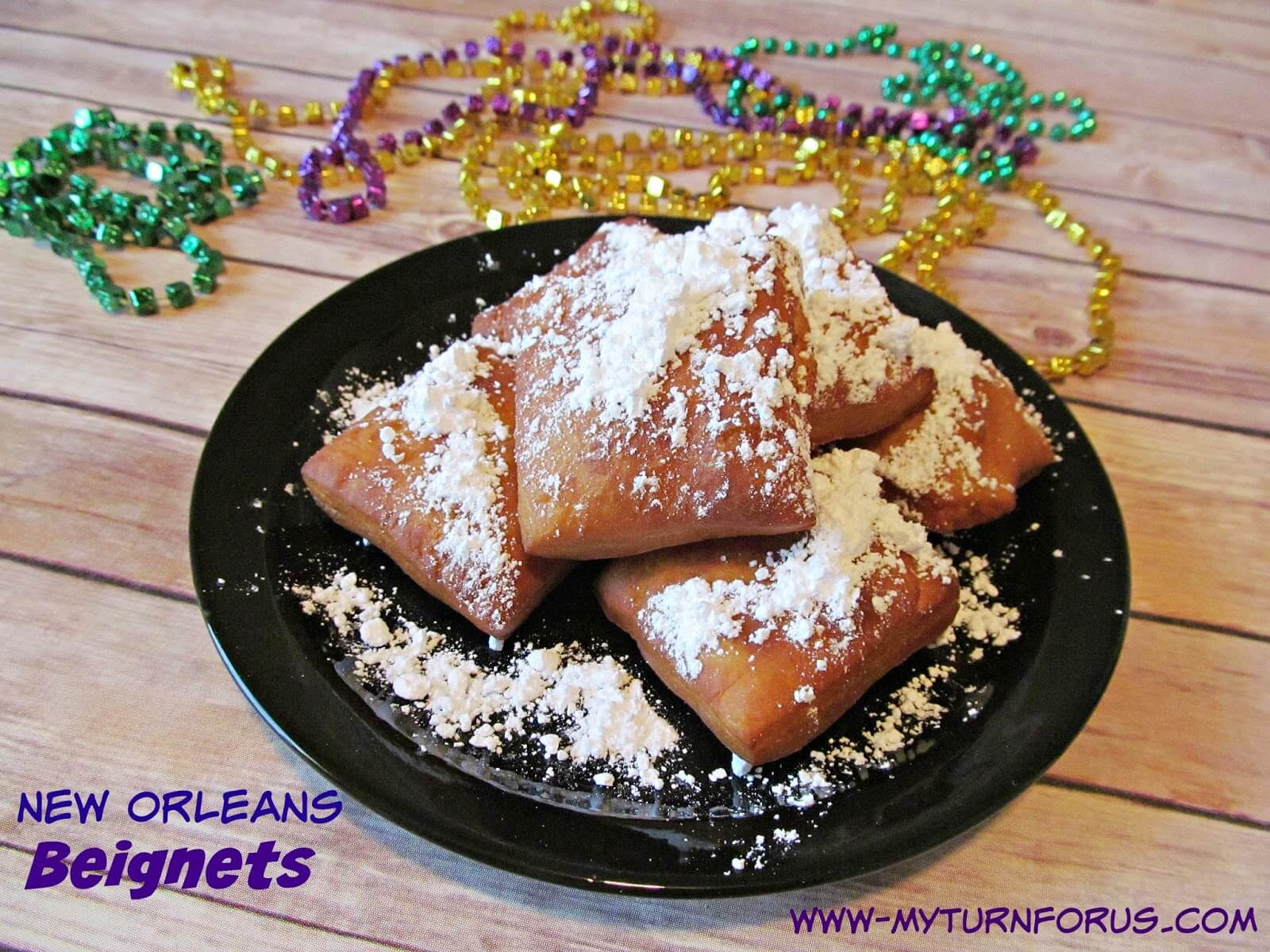New Orleans Beignets from My Turn For Us