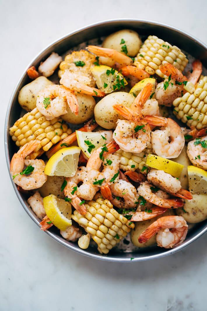Garlic Loaded Southern Style Shrimp Boil from Little Spice Jar