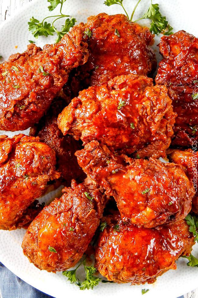 Nashville Hot Fried Chicken from Carlsbad Cravings