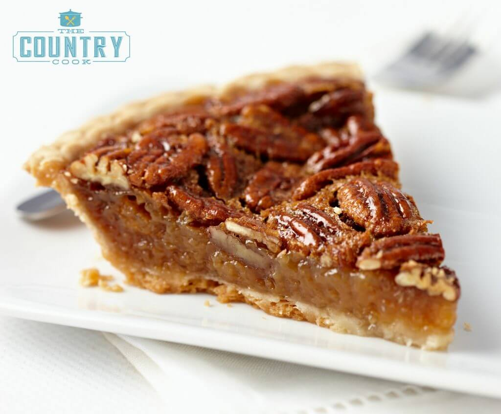 Southern Pecan Pie from The Country Cook