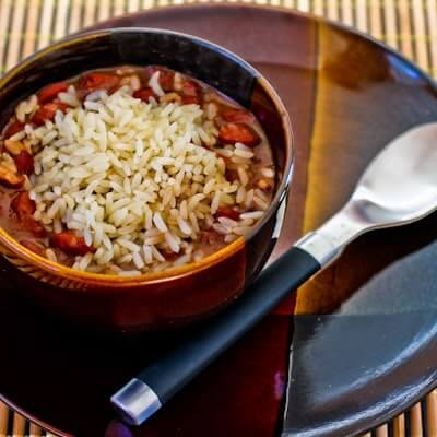 Slow Cooker Louisiana-Style Red Beans and Rice from Kalyn's Kitchen