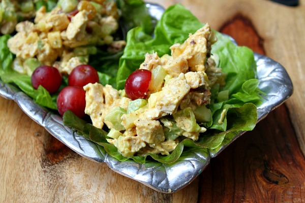 Fruity Curry Chicken Salad Recipe