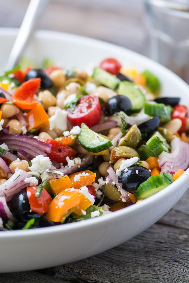 Mediterranean Bean Salad from The View From Great Island