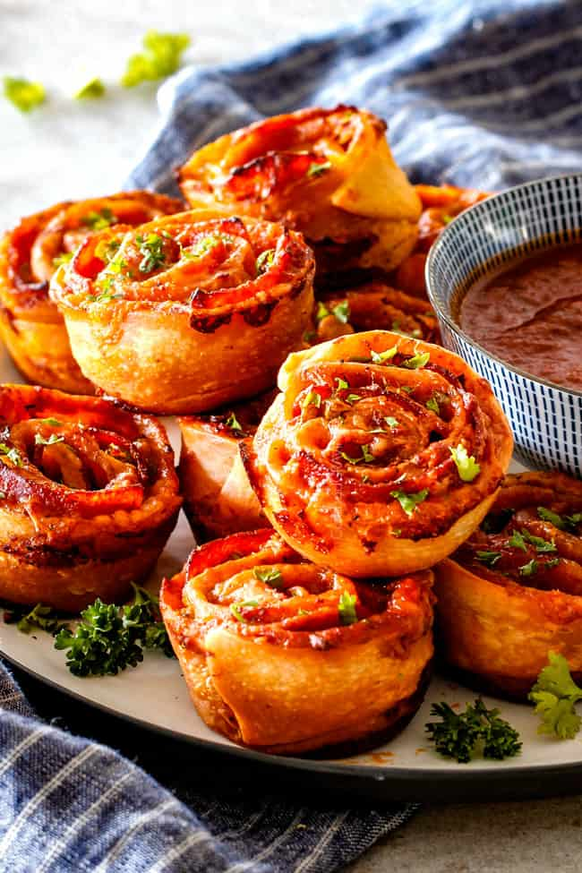 Pizza Pinwheels from Carlsbad Cravings