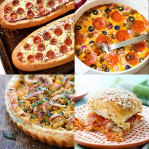 32 Recipes for Pizza Lovers - dishesanddustbunnies.com